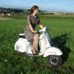 Tanja Braid Vespa
