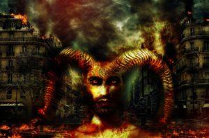 Kali Yuga Weltzeitalter Dämon