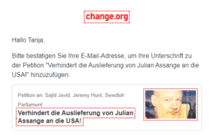Petition Assange